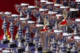 Trofeos y copas económicos para cada ocasión